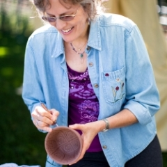 about artist and potter debra griffin