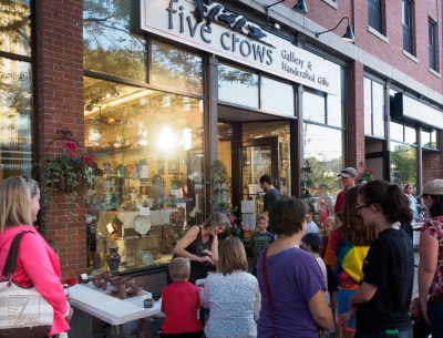 Five Crows arts and crafts store in Natick, MA